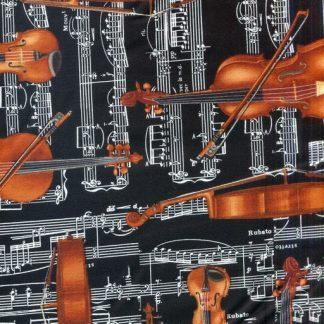 Solo Violinist - Black 8602-12