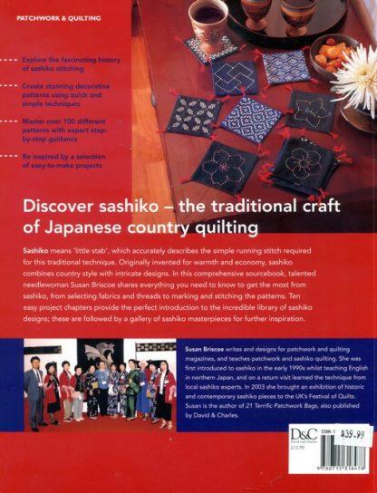 The Ultimate Sashiko Sourcebook - BackCover ISBN-0-7153-1847-0
