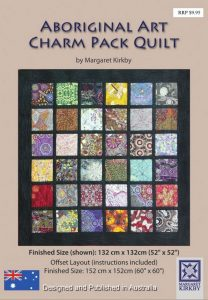 Aboriginal Art Charm Pack Quilt Pattern