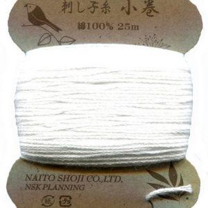 Sashiko Thread – Col. 1 (25 metre card)