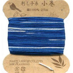 Variegated Sashiko Thread – Col. 205 (25 metre card)