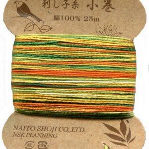 Variegated Sashiko Thread – Col. 208 (25 metre card)