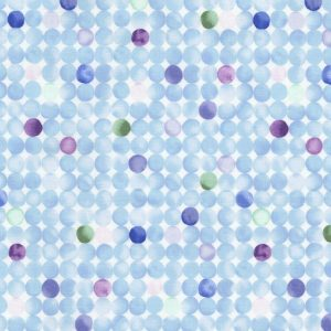 Water Colour Dots C5548-Sky