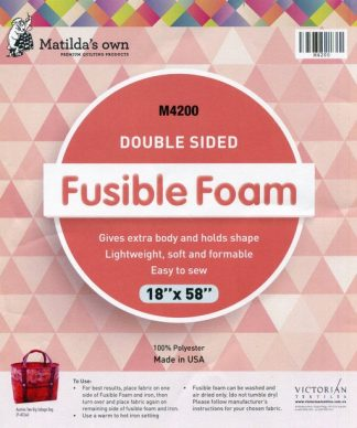 Double Sided Fusible Foam