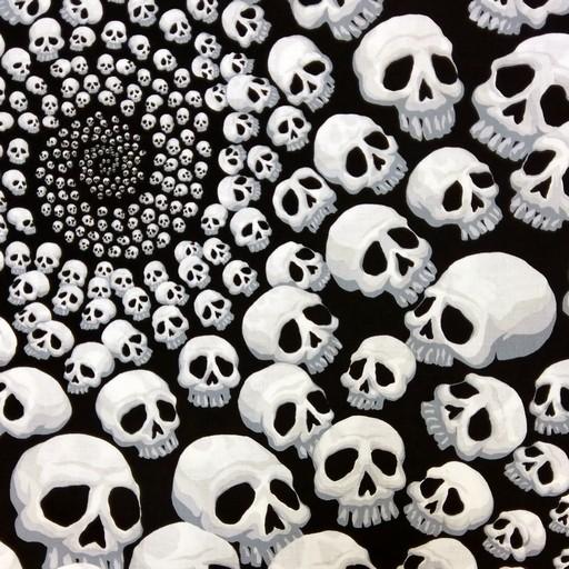 Skull-Finity - Black TA6404A