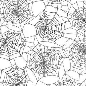 Fright Night Spider Webs – White 1107-1