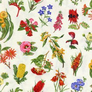 Wildflowers – Cream 11630-1
