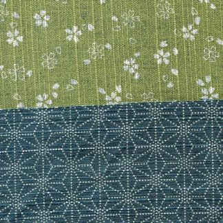 Traditional Japanese - Green on one side, Blue on the other side 88235-1-2