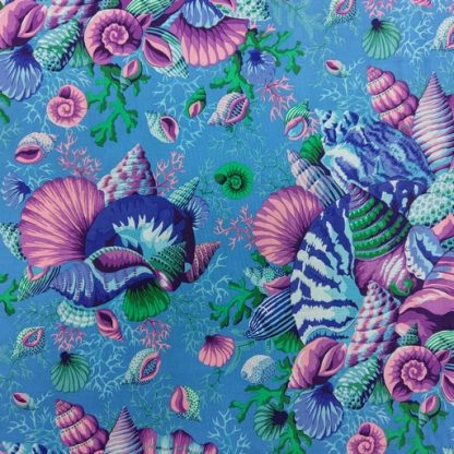 Shell Bouquet PWPJ088-BLUE