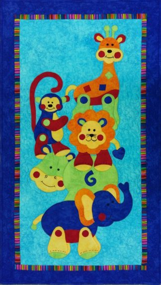 Animal Stackers Quilt Kit