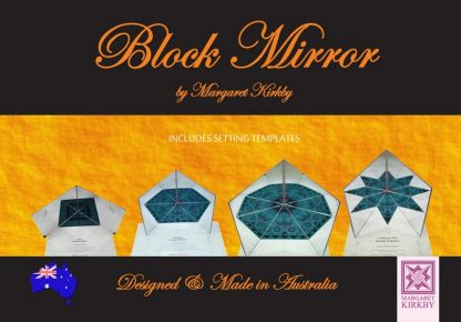 Block Mirror by Margaret Kirkby