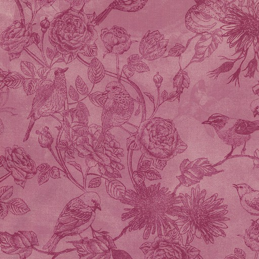 Bird Toile C5551-Pink