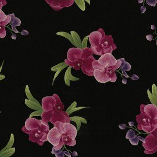 Orchid Bouquets C5649-Black