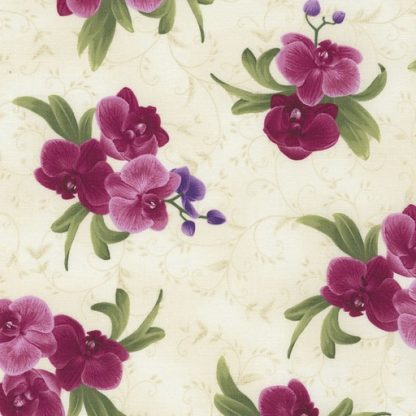 Orchid Bouquet C5649-Cream