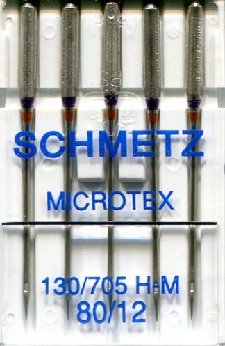Schmetz Microtex Machine Needles 80 / 12