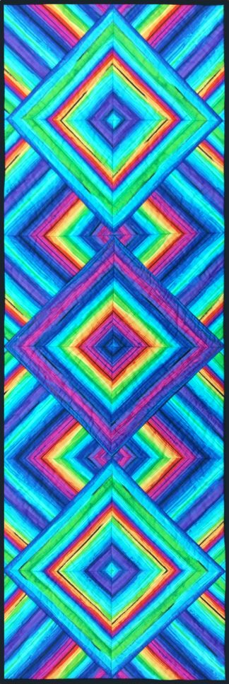 Rainbow Illusions Table Runner Project Pack
