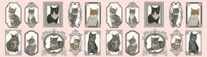 Cat The Way I Like It Panel - Pink Y2317-41