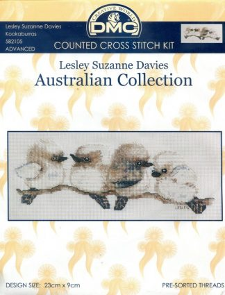 Counted Cross Stitch Kit - Kookaburras