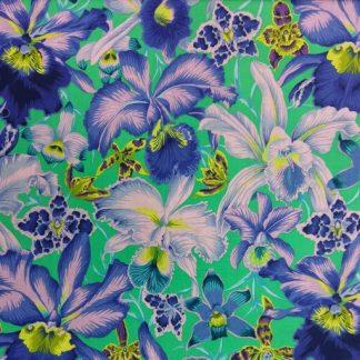 Orchids PWPJ092-BLUE