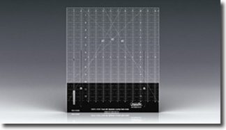 Westalee 12 ½ Inch Block Ruler with Adjustable Locking Fabric Guide.
