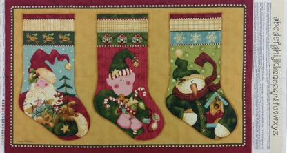 Peppermint and Hollyberries Panel