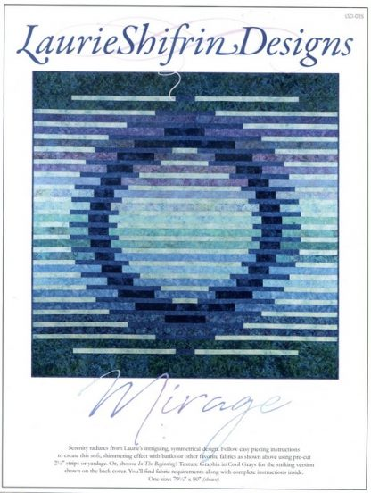 Mirage Pattern by Laurie Shifrin Designs