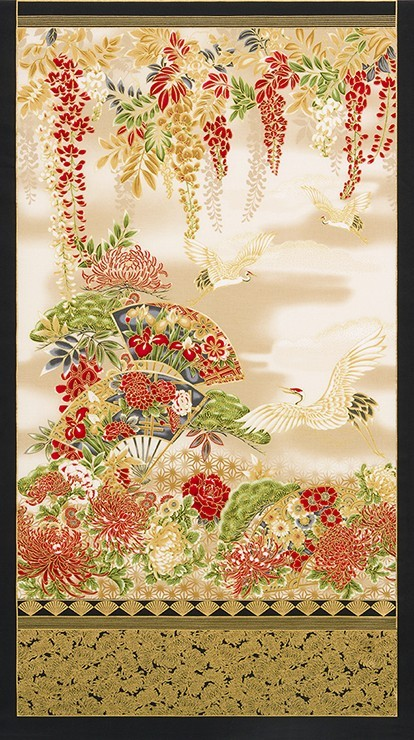 Imperial Collection 14 Panel SRKM-17664-3 Crimson