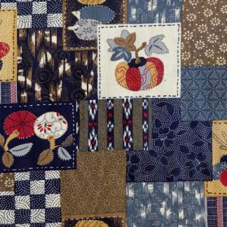 Traditional Japanese Patches - Multi 3375-W-12-A