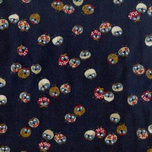 Traditional Japanese Owls – Indigo 3375-W-16-A