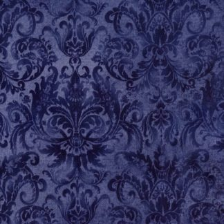 Softened Damask - Navy MAS-103-N