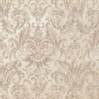 Softened Damask - Cafe Froth MAS-103-TE