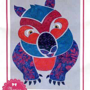 Wally Wombat Pattern