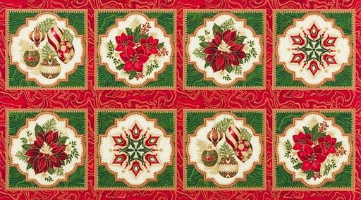 Holiday Flourish 11 Panel APTM-17334-223 Holiday