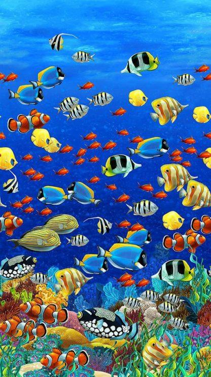 Coral Reef Panel DP22078-44