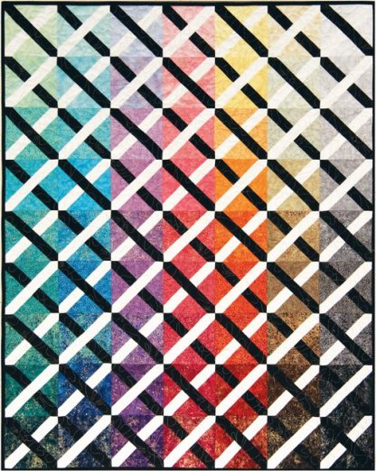 Through the Lattice Quilt Kit