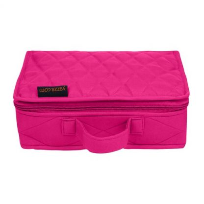 Mini Organizer - Large (Fuchsia)