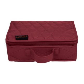 Mini Organizer - Large (Maroon)