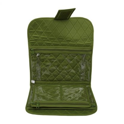 Trifold Craft Project Case (Green). Open case image.