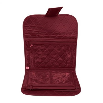 Trifold Craft Project Case (Maroon). Open case image.
