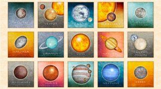 Planets Panel 26742-E