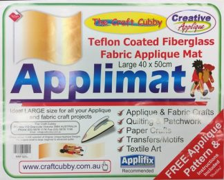 Applimat - Teflon Coated Fiberglass Fabric Applique Mat