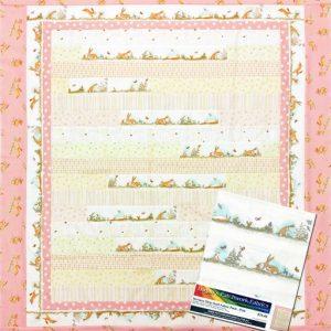 Nursery Strip Quilt Fabric Pack