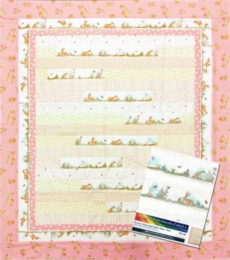 Nursery Strip Quilt Fabric Pack