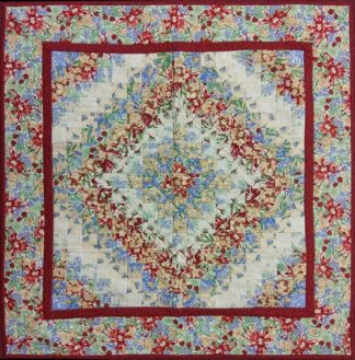 Australian Colourwash Quilt - Finished Quilt