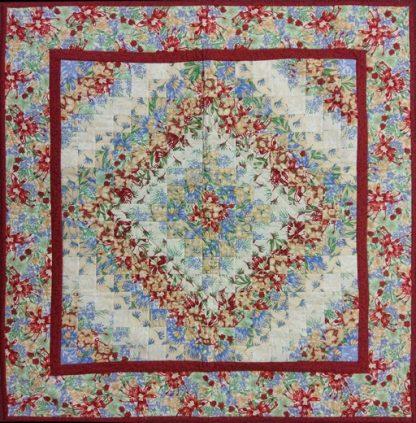 Australian Colourwash Quilt - Finished Quilt