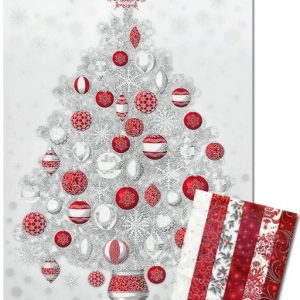 Winter's Grandeur Pack and Panel – Red and Silver