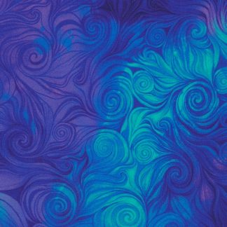 Swirls 6554-Blue