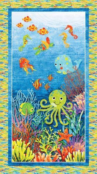 3D Undersea Adventures Panel
