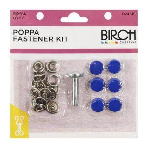 Poppa Fastener Kit – Royal