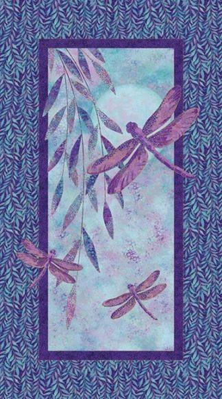 Dragonfly Moon Panel